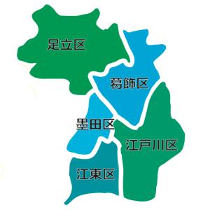 訪問地域エリアマップ